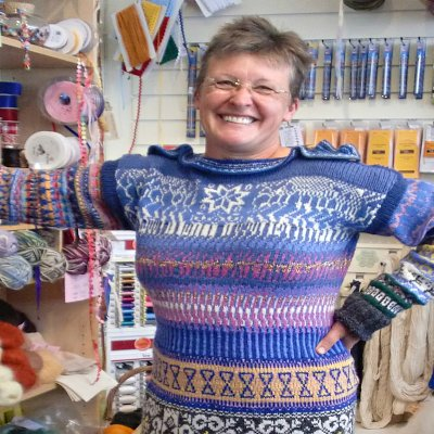 Sue Reed: The Knitting Doctor